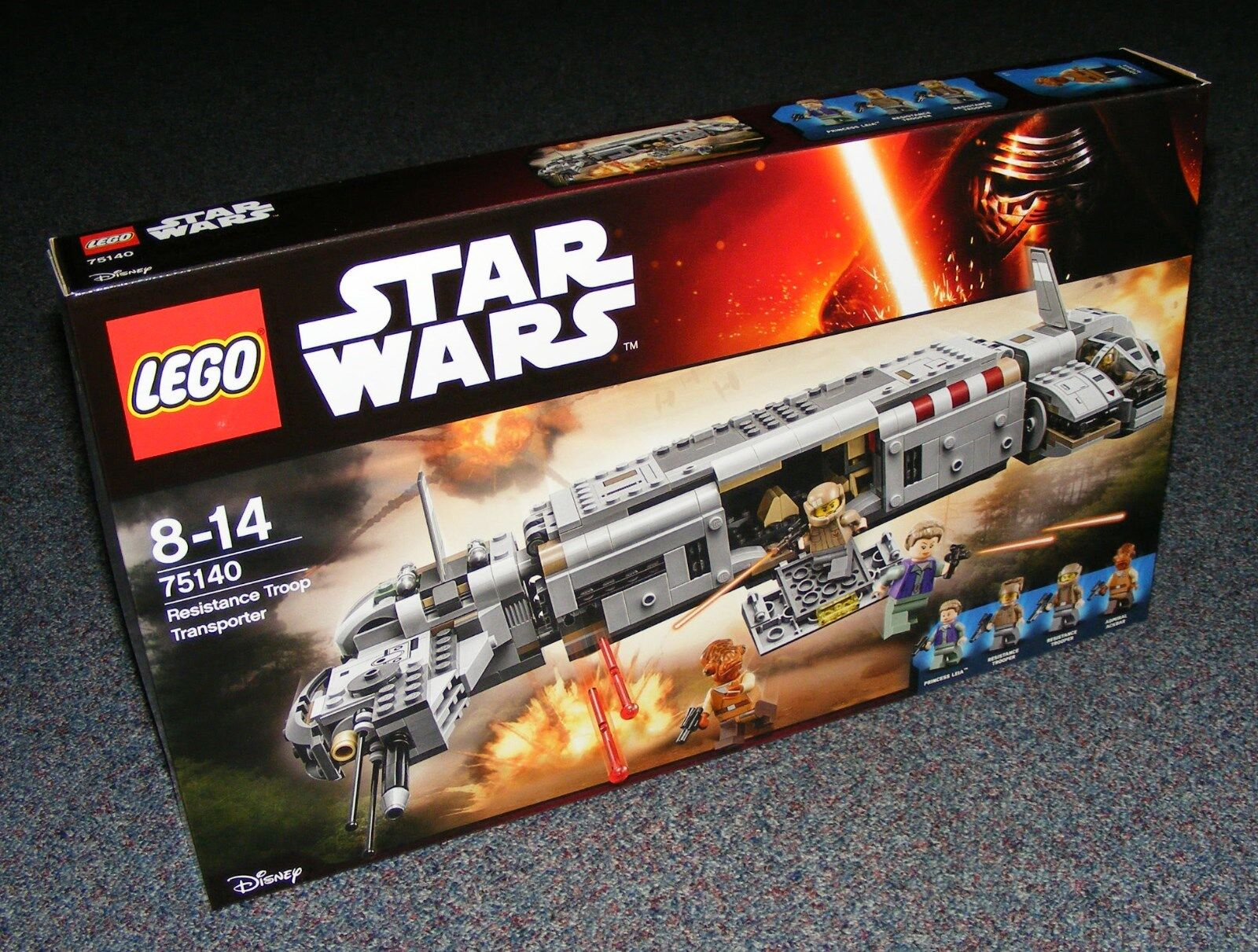 STAR WARS LEGO 75140 RESISTANCE TROOP TRANSPORTER BRAND NEW SEALED BNIB