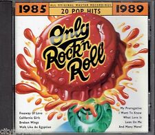 Only Rock 'N Roll 1985-1989: #1 Radio Hits [1998] by Various Artists (CD, 1994, Rhino (Label))