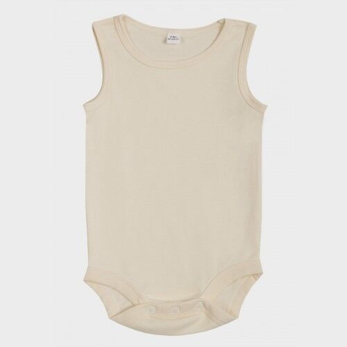 Baby Bugz Organic Cotton Bodysuit 100/% Cotton White//Cream//Black