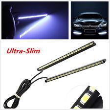 2x Waterproof Ultra-Slim Car LED Fog Signal Light Daytime Running Lamp Strip DRL