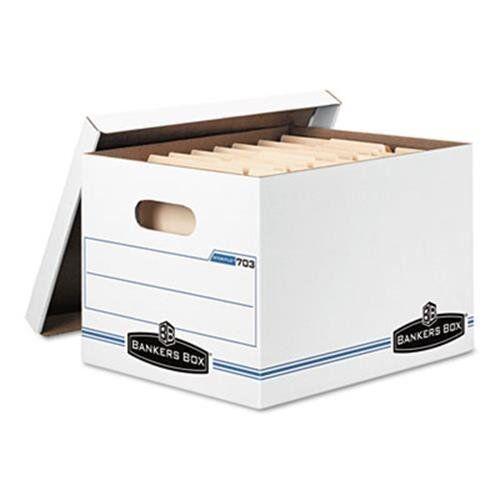 6 BOXES Bankers Store File Storage Letter//Legal Organizer Folder Holder Office