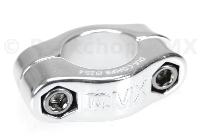 "Black 25.4mm New Dia-Compe MX Hinged Old School BMX Seat Clamp 1/"""
