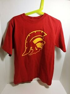 Youth Nike Cardinal USC Trojans Cotton Logo T Shirt