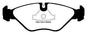 DP4751R EBC Yellowstuff Front Brake Pads fit SAAB 9000