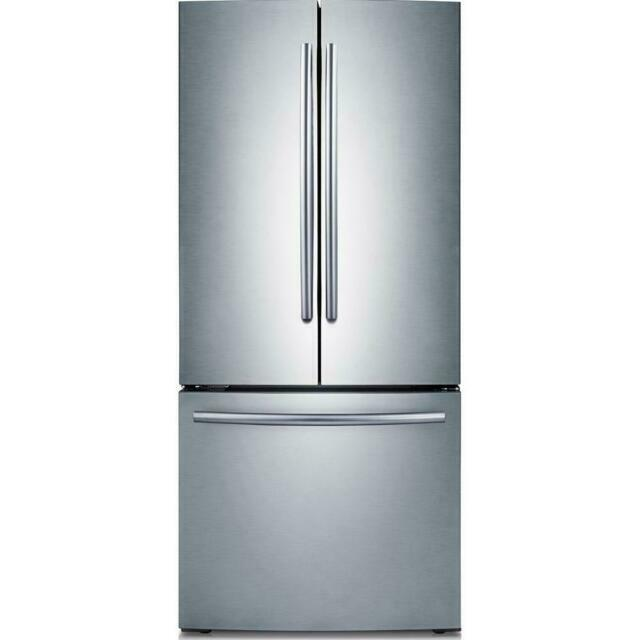 Samsung RF220NCTASR  French-Door Refrigerator - Stainless Steel