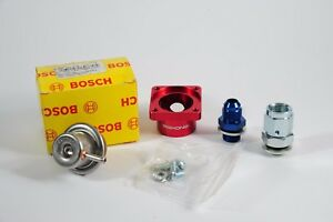 Bosch-Motorsport-Competition-Fuel-Pressure-regulator-Jenvey-body-4-Bar-SILVER