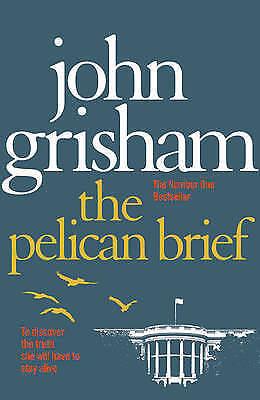 """""""AS NEW"""" The Pelican Brief, Grisham John, Book"""