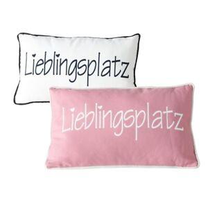 1-x-Kissen-Lieblingsplatz-50-x-30-cm-Deko-Pillow-Couch-Sofa-rosa-weiss
