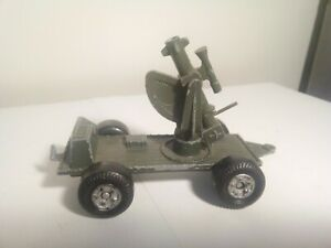 Vintage-Lone-Star-Diecast-Military-Anti-Aircraft-Mobile-Gun