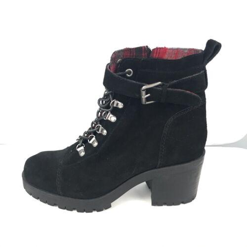 Nine West Womens Ursala Ankle Boots Black Leather