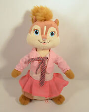 "2010 Brittany Alvin & Chipmunks 2 Squeakquel 10"" Plush Stuffed Ty Beanie Figure"