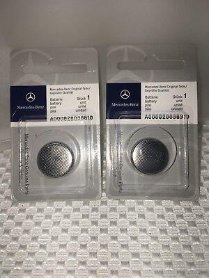 NEW MERCEDES BENZ Remote Key Batteries 2-Pack OEM A000828038810