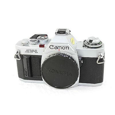 CLASSIC CANON AV-1 35mm SLR Film Camera Body. (Body No. 149962).