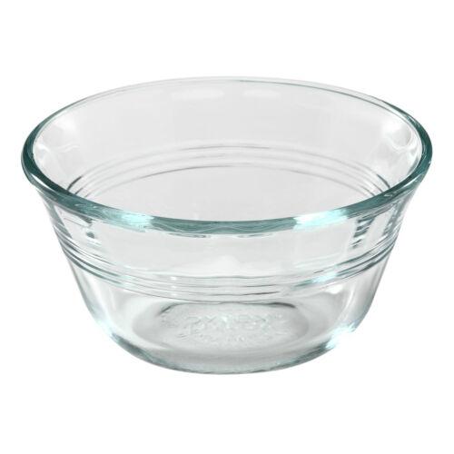 4 PYREX 6-oz Glass CUSTARD CUPS Bake Prep Dessert Clear Side Dish Sauce # 463