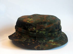 0fc1a6225c0 Image is loading RECCE-Hat-Boonie-Flecktarn-German-Camo-Made-in-