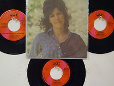 LOT OF 4  ' DONNA FARGO '  HIT 45's+1PS          THE 70's!