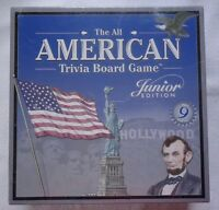 The All American Trivia Board Game Junior Edition 2001 Brand Factory Sealed