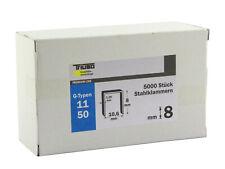 Triuso Heftklammer Ersatzklammer aus verzinktem Stahl 1000 Stück 6,8,10,12 /&14mm