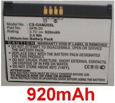 Batteria 920mAh Per Garmin-Asus Nüvifone tipo TD10091100270