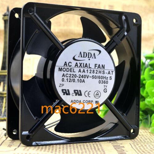 1PC Neu ADDA  AA1282HS-AT 12CM 12038 220V 0.12A