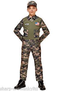 Caricamento dell immagine in corso Ragazzi-USA-Americana-Soldato-Dell-039- Esercito-Uniforme- 25edb8dfc119