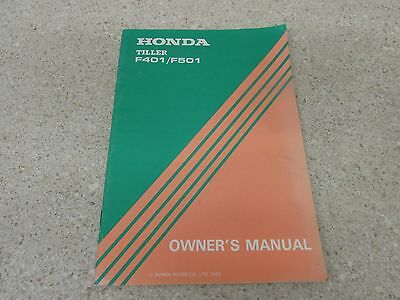 Honda f410 f460 f510 f560 shop service repair manual | ebay.