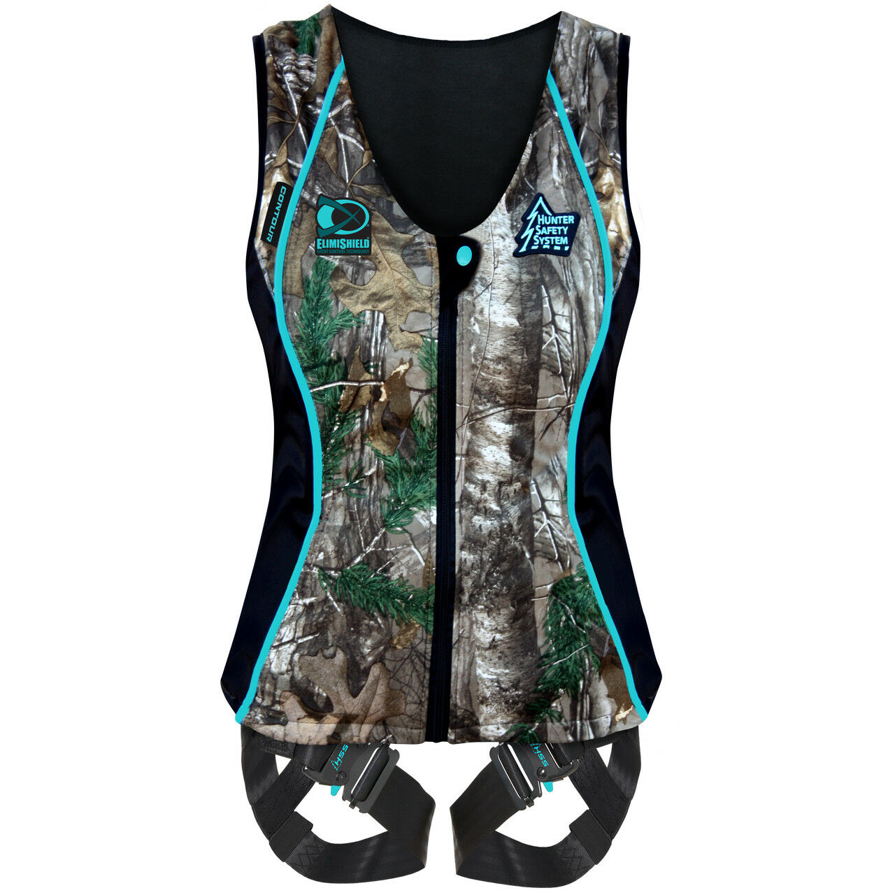 Hunter Safety Systems Camo Hunting Smart Fabric Lady Contour Vest, Small Medium
