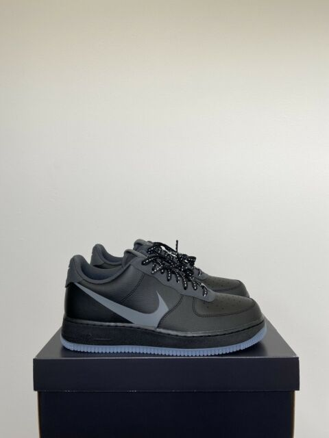 Nike Air Force 1 07 LV8 Nero UK11 EUR46 US12 NUOVI CD0888 001