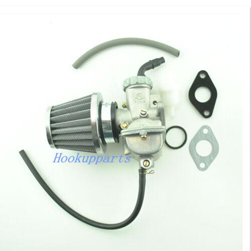 CARBURETOR For HONDA XR 80 XR80 XR80R CARB 1985-2003 W// Air Filter Fuel Filter 2
