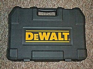 EMPTY-Dewalt-MECHANICS-TOOL-BOX-FROM-200-PIECE-SOCKET-SET-SPACES-FOR-RATCHET-SO