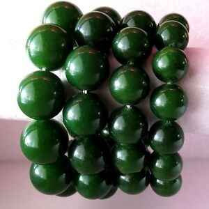 Image Is Loading Green Meaning Charm Charming Stone Bead Jade