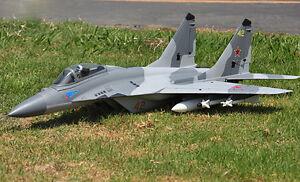 LX-1-5M-MIG29-RC-KIT-Jet-Plane-Model-Twin-70MM-EDF-EPS-W-O-Battery-amp-Radio-ESC