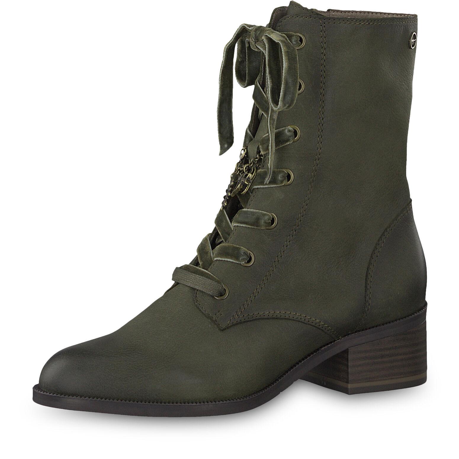 Tamaris Schuhe aus Leder mit Absatz
