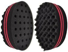 *Locking Afro Curl Twist Dreads Coil Wave Double Side Barber Hair Brush Sponge*