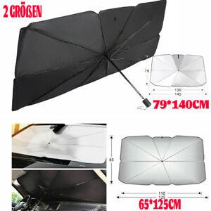 Auto Regenschirm Windschutzscheibe Sonnenschutz Abdeckung Faltbar Für Limousine