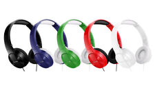 Pioneer SE-MJ503 Lightweight Compact Folding Pure Sound On-Ear Headphones