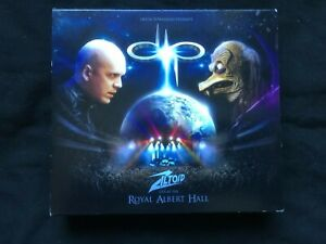 Devin Townsend Presents Ziltoid Live At The Royal Albert Hall 3xCD 1 DVD Inside