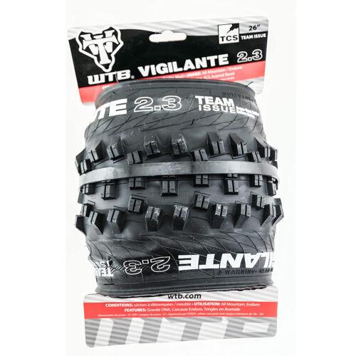 "WTB Vigilante Team Issue 26/"" 2.3 TCS Mountain Bike Tire 26 X 2.30"