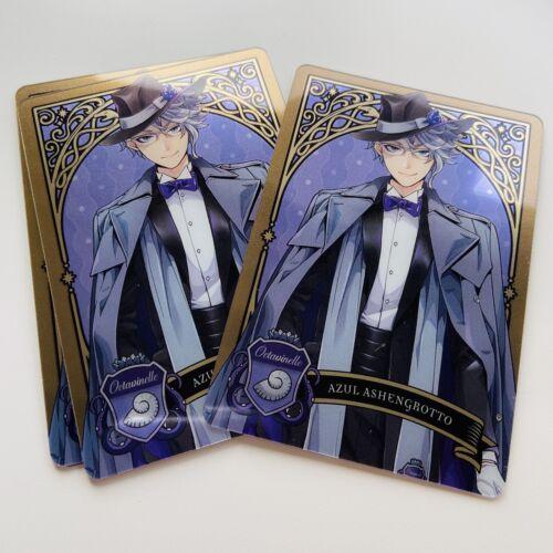 Disney Twisted Wonderland Azul Metal Card