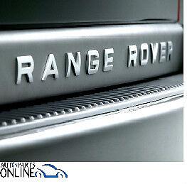 REAR NAME PLATE RANGE ROVER 2009-2012 RANGE ROVER -  LR008212//13R PLASTIC