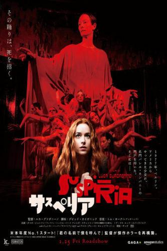 W874 Suspiria Horror Movie 2018 New 24x36/'/' Art Silk Poster