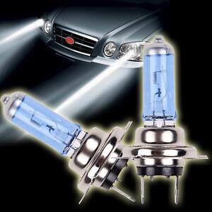 2pc h7 6000k xenon lampen led gas halogen scheinwerfer wei gl hbirnen 100w ebay. Black Bedroom Furniture Sets. Home Design Ideas