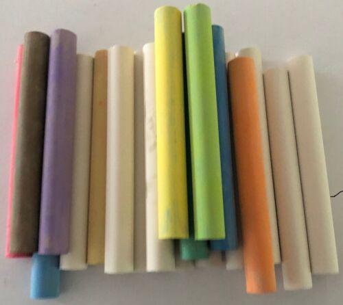 Blackboard palos de color y blanco tiza para las placas de tiza Paquete de 10