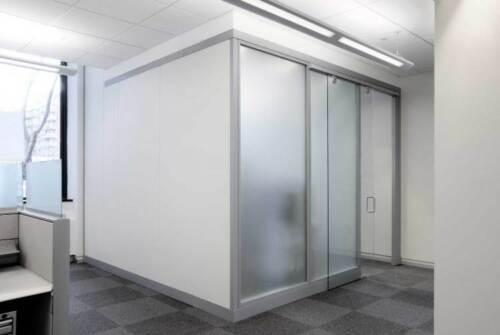 Adhäsionsfolie Statische Sichtschutzfolie Büro 100cm x 122cm selbsthaftende