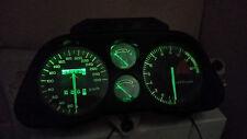 GREEN CBR1000F HURRICANE 87 - 89  led dash clock conversion kit lightenUPgrade