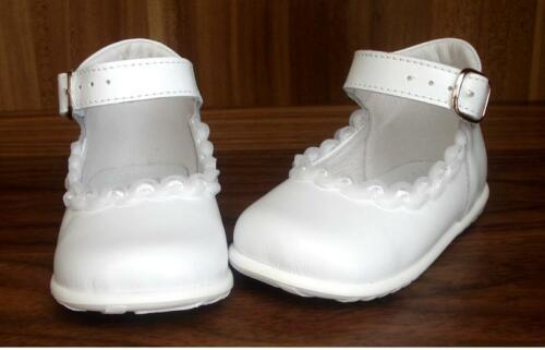 Nº 0e509 cuero genuino taufschuhe Baby zapatos para niños zapatos bautizo boda nuevo