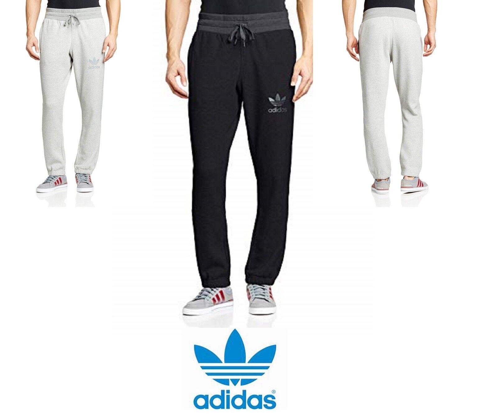 Adidas Hombre Spo Pantalón de Chándal Polar Pantalones