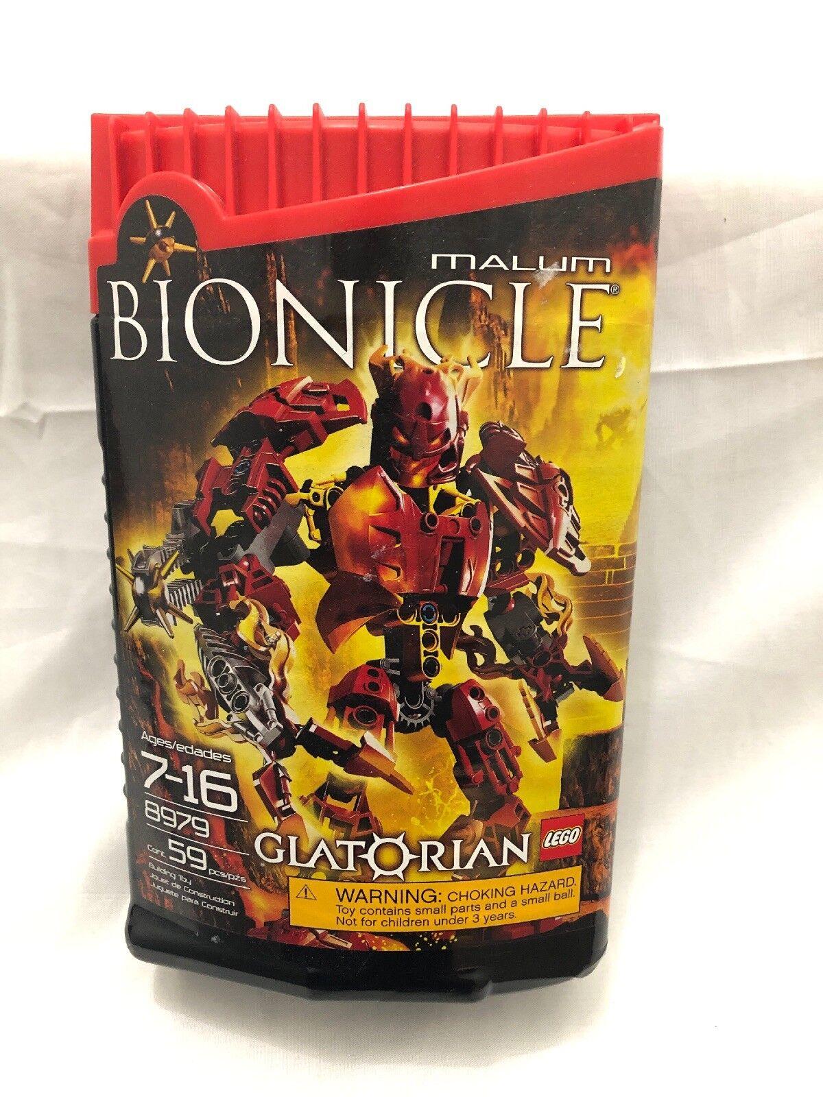 Lego Bionicle Glatorian Malum (8979) (8979) (8979) NEW SEALED bee063