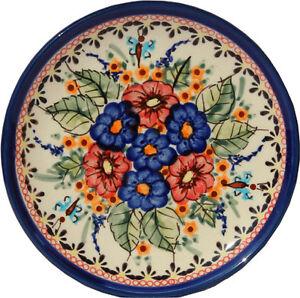 Polish Pottery Plate 6.5 Inch from Zaklady Boleslawiec 818/149ar