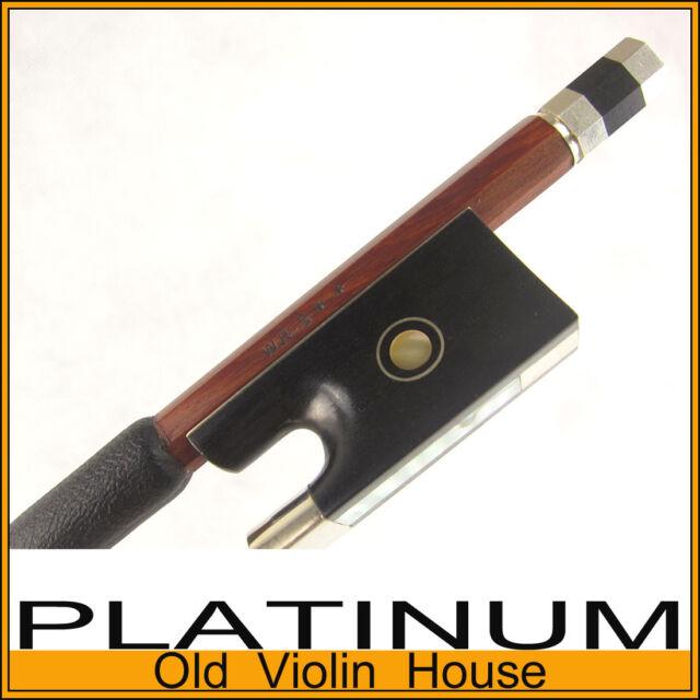 W.R.S. ** Silver IPE Concert Violin Bow. Top Pernambuco Strength. [WRS1]